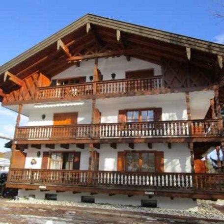 Westansicht Margeritenhaus, © im-web.de/ Ferienwohnungen Tegernsee