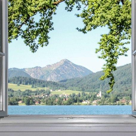 Ausblick vom Sofa, © im-web.de/ Tourist Information Tegernsee
