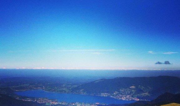 Blick vom Hirschberg-Gipfel, © Sara Haußleiter