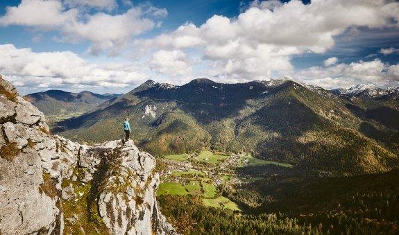 Leonhardstein - Gipfel, © Tegernseer Tal Tourismus GmbH