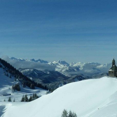 Aussicht bis in die Tiroler Berg, © im-web.de/ Tourist-Information Kreuth