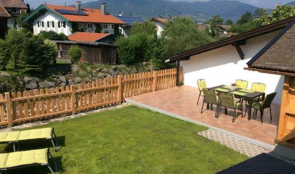 Blick auf die Terrasse, © im-web.de/ Tourist-Information Bad Wiessee