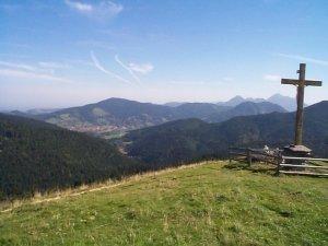 Alpbachtal und Kühzagl von Tegernsee