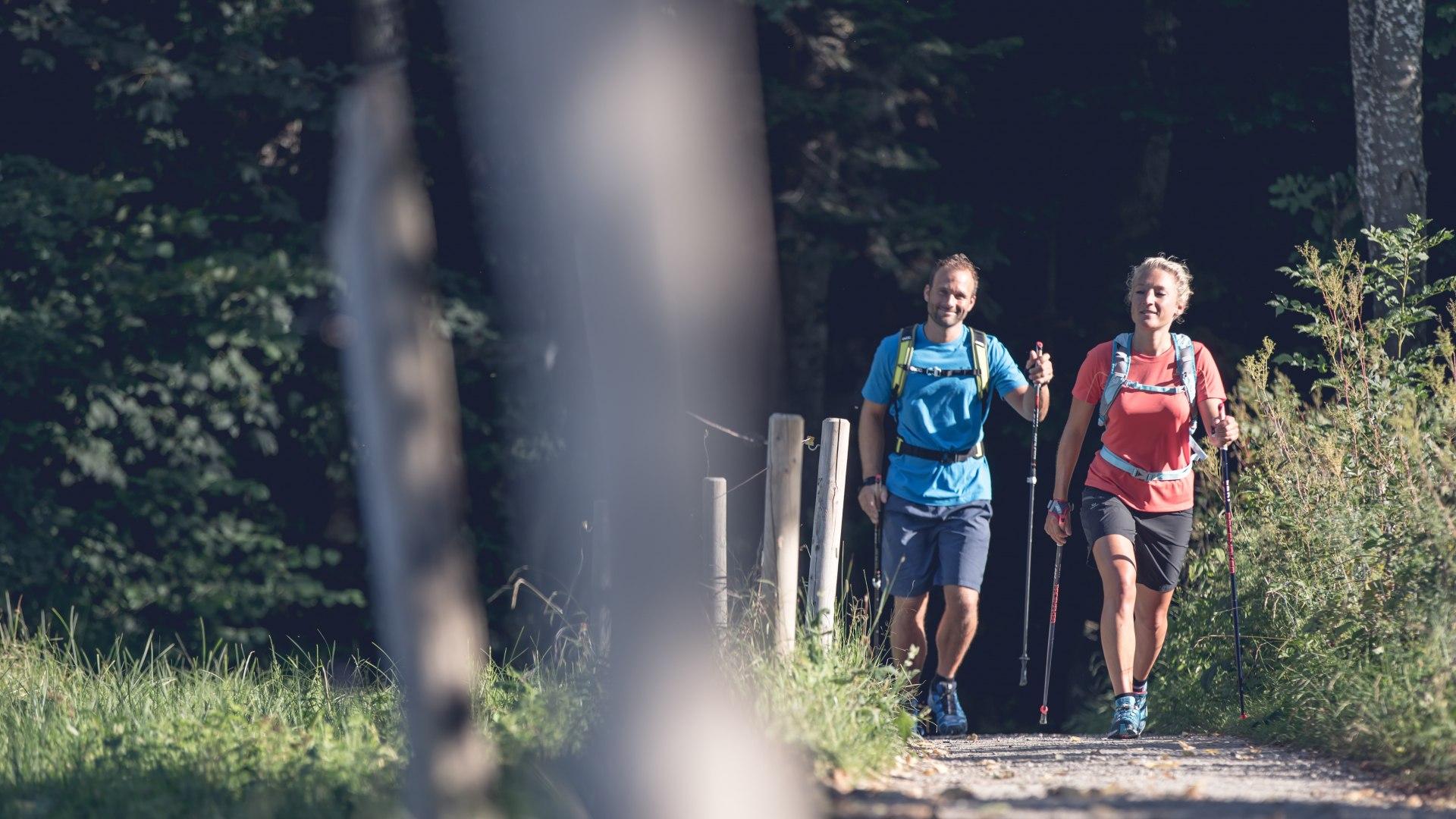 Nordic Walking auf den Wegen rund um den Tegernsee und auf den Bergen der bayersichen Voralpen, © Hansi Heckmair