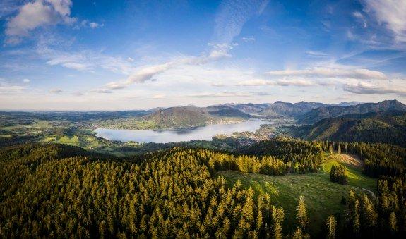 Holzeralm und Koglkopf (von Bad Wiessee), © Amelie Schauer