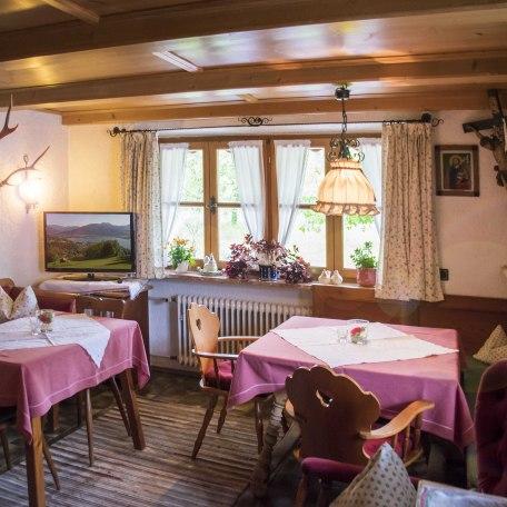 Frühstücks- und Aufenthaltsraum, © im-web.de/ Tourist-Information Kreuth