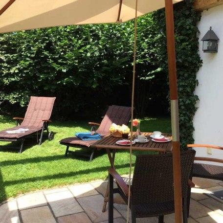 Terrasse/Garten, © im-web.de/ Tourist-Information Bad Wiessee