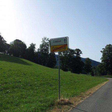 Willkommen in der Gasse, © im-web.de/ Tourist-Information Gmund am Tegernsee