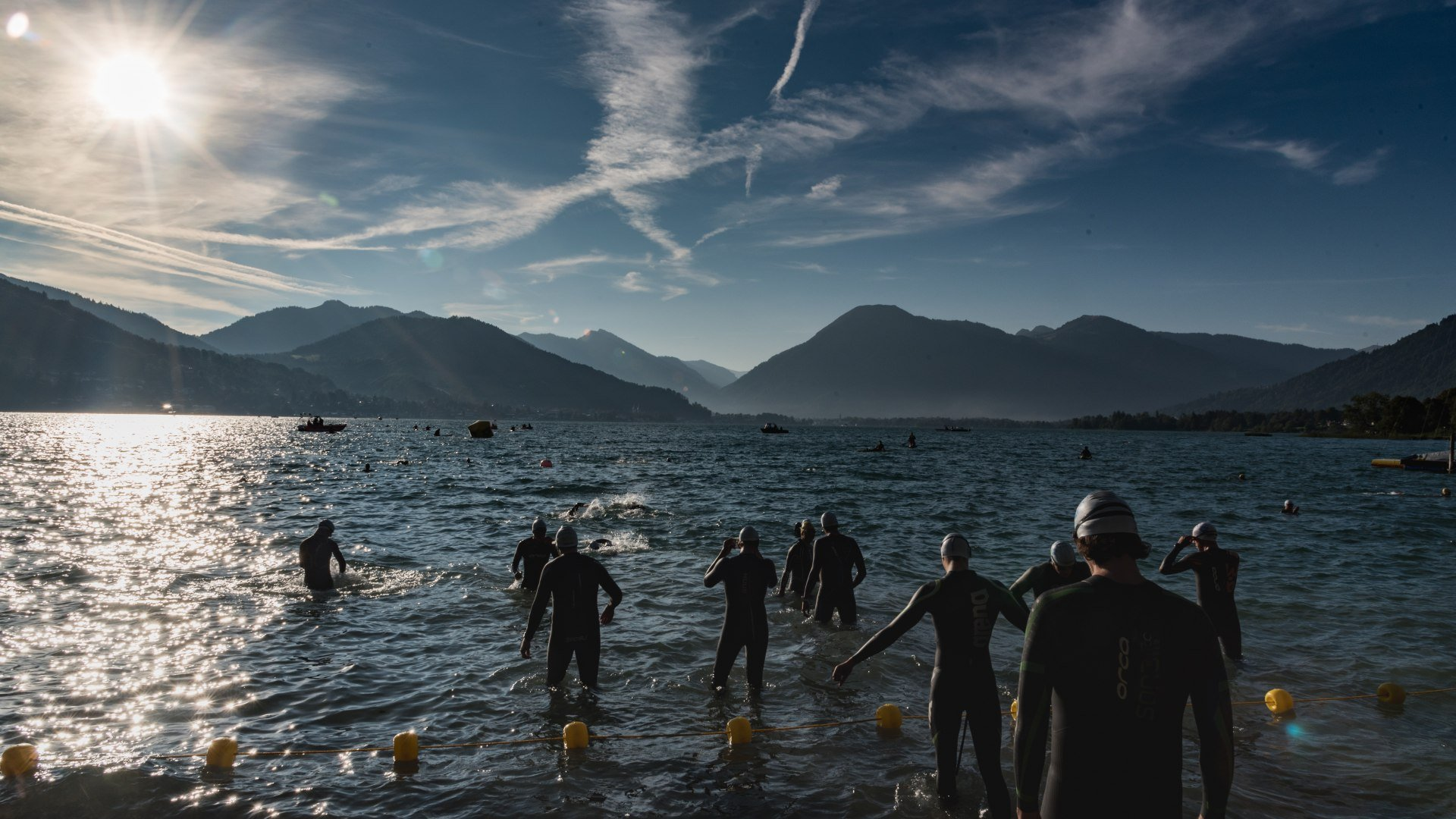 Langstreckenschwimmen Bad Wiessee - Tegernsee