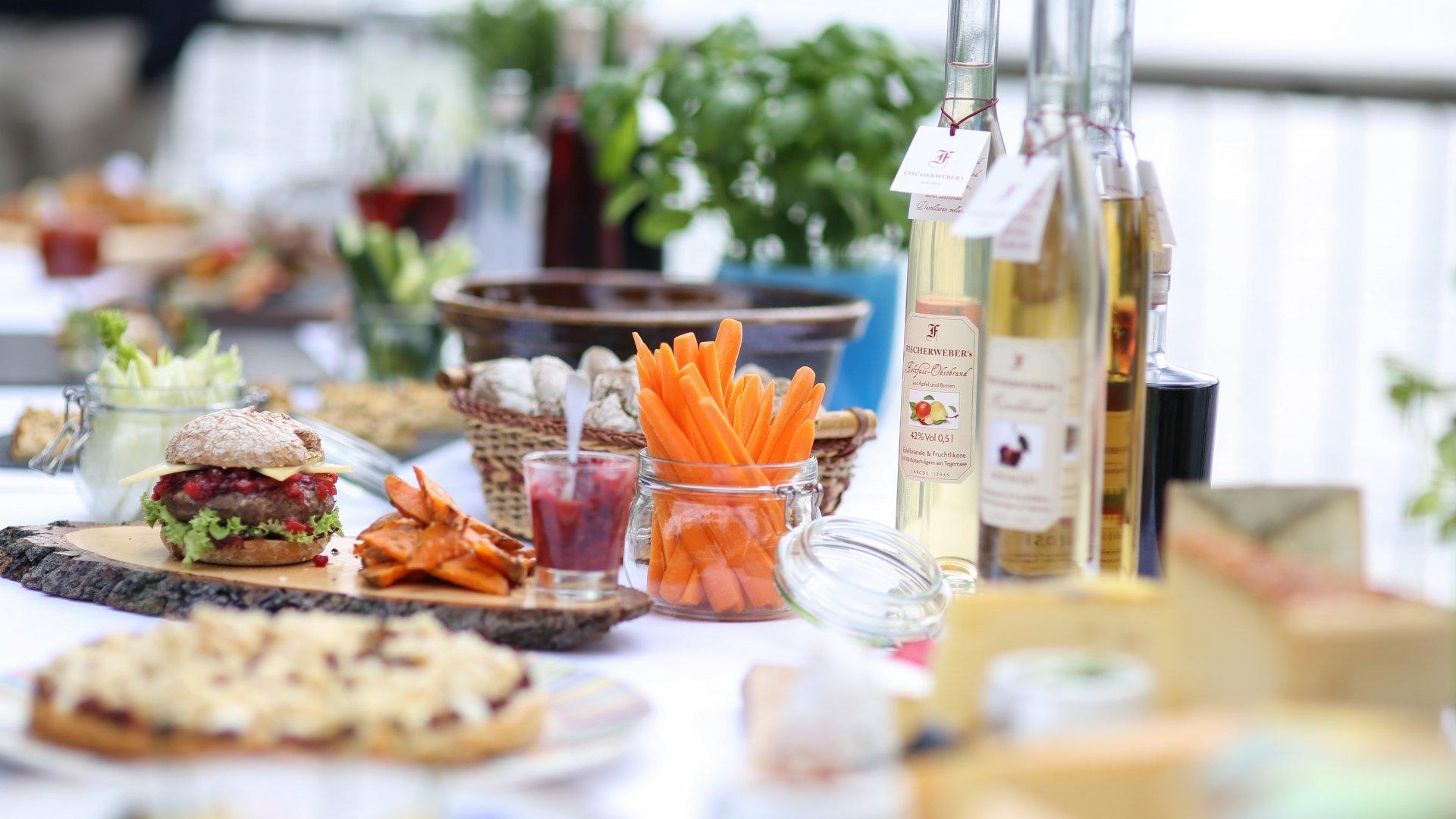 Liebevoll im GENIESSERLAND DER TEGERNSEE zubereitete Gerichte, © Sonja Still