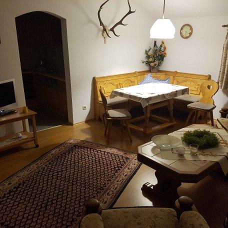 Wohnraum Ferienwohnung Mayr, © im-web.de/ Tourist-Information Kreuth