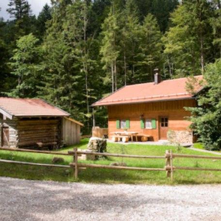 Ferienhaus am Tegernsee: Das Almhaus Webermohof, © im-web.de/ Tourist-Information Rottach-Egern