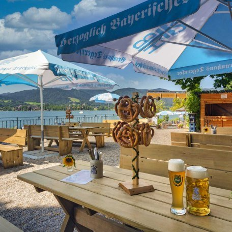 Biergarten, © im-web.de/ Tourist Information Tegernsee