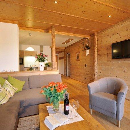 Wohn- Küchenbereich Ferienwohnungen im Ignazhof Bad Wiessee, © im-web.de/ Tourist-Information Bad Wiessee