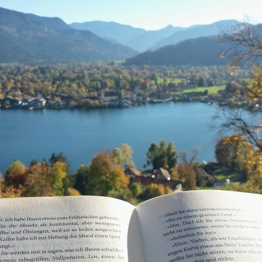 Lesen am Tegernsee, © Isabelle Munstermann