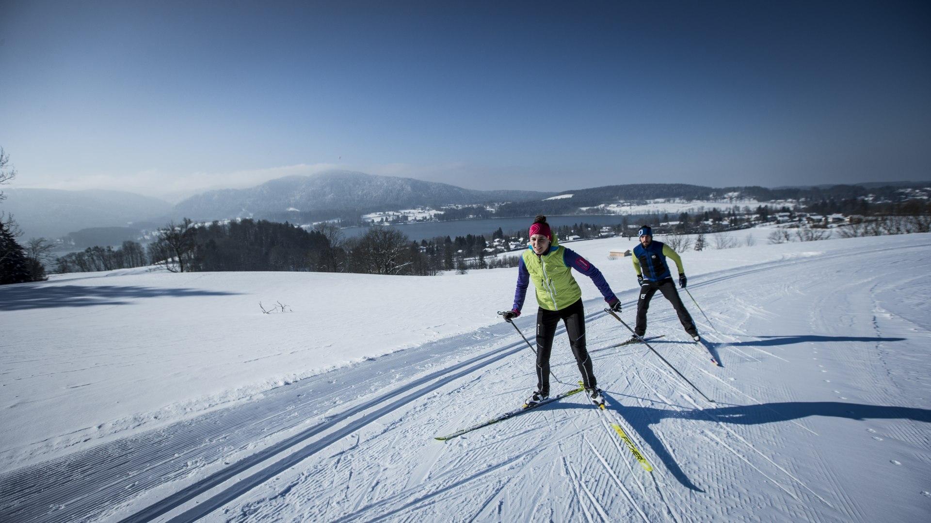 Langläufer in Gmund, © Hansi Heckmair