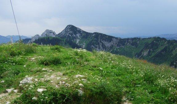 Blick zum Risserkogel vom Setzberg, © Community