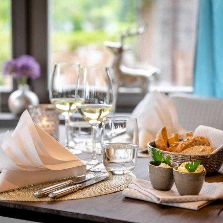 Gedeckter Tisch Boutique Hotel Relais Chalet Wilhelmy, © Günter Standl