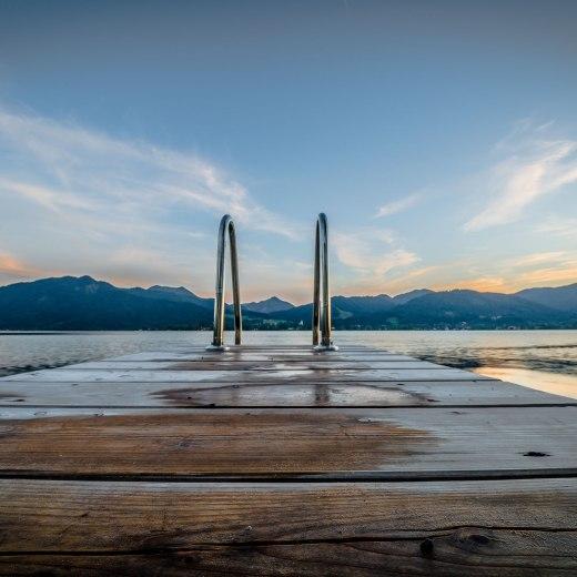 Ein Steg am Tegernsee, © Peter Prestl