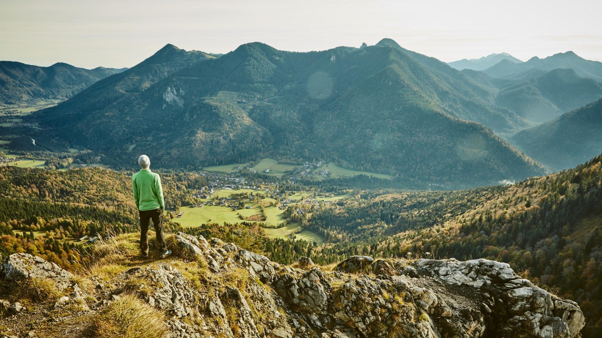 Aussicht vom Berg, © Urs Golling/ Tegernseer Tal Tourismus GmbH
