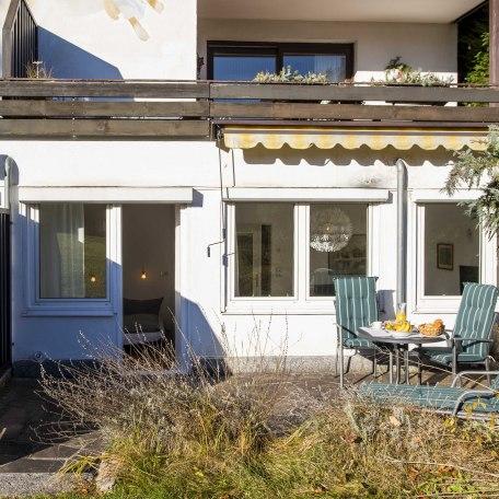 Blick vom Garten auf Leo am See, © im-web.de/ Alpenregion Tegernsee Schliersee Kommunalunternehmen