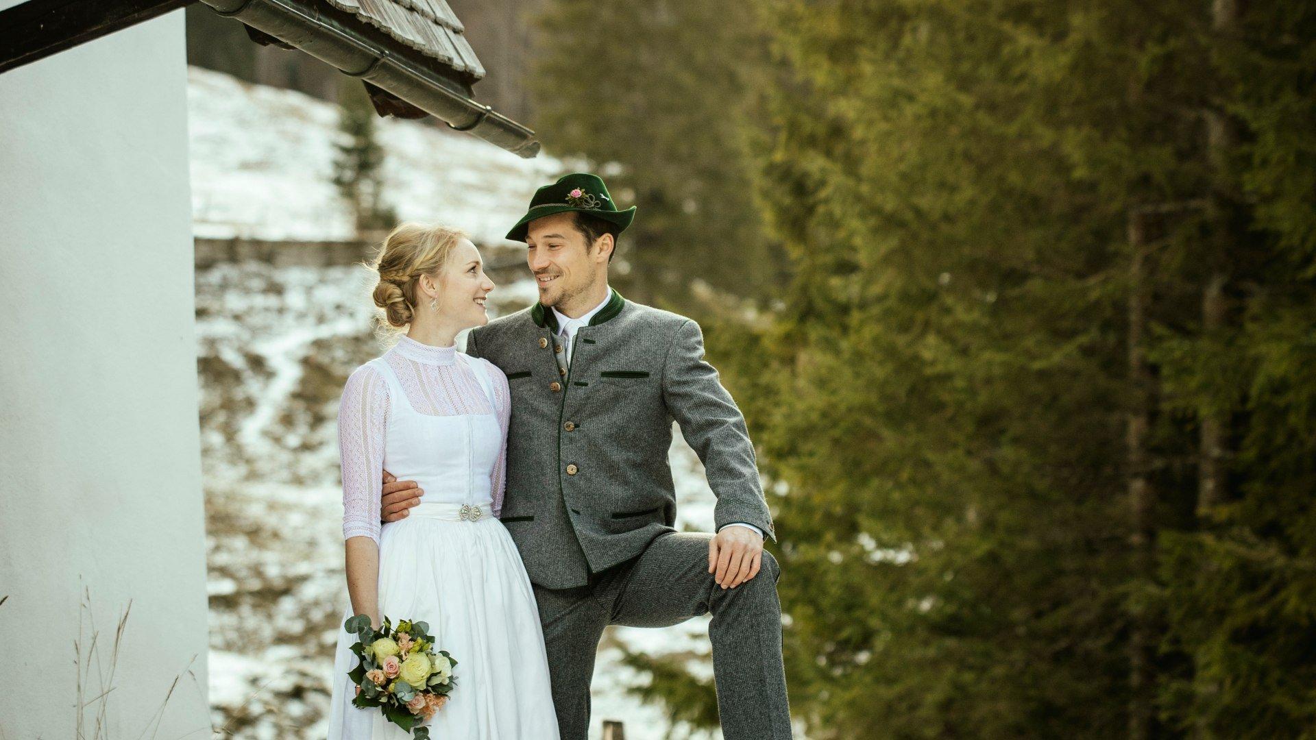 Heiraten am Tegernsee, © Hutmacherei Wiesner, Foto: Florian Bachmeier