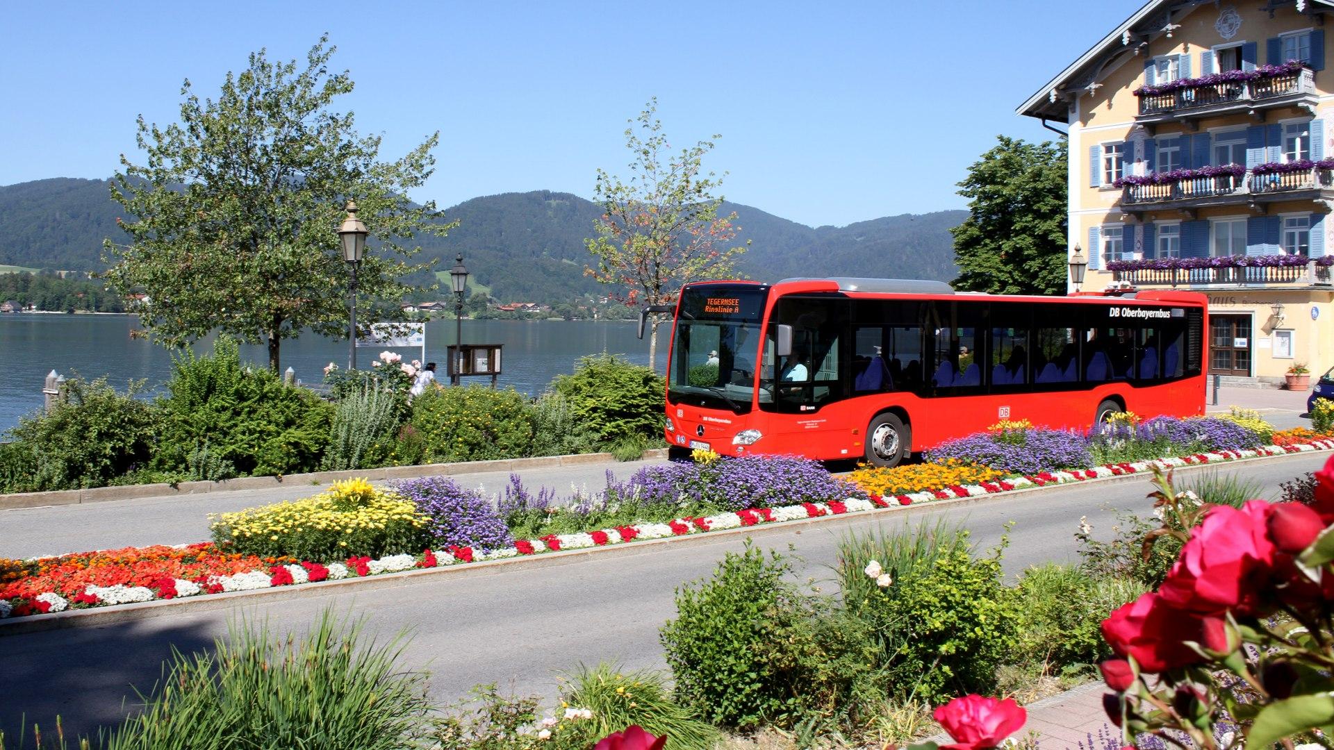 Mit dem Bus um den Tegernsee, © Thomas Müller