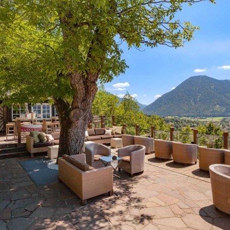 Terrasse, © im-web.de/ Tourist Information Tegernsee