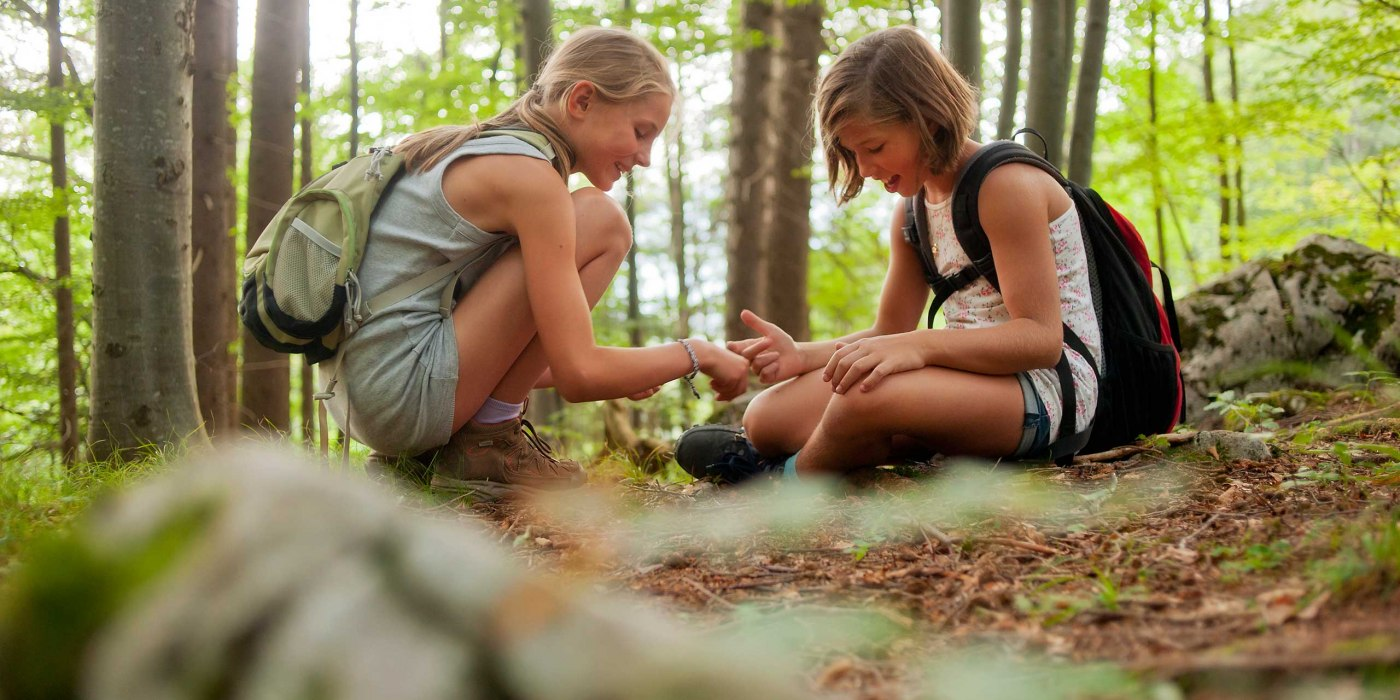 Kinderferienprogramm am Tegernsee im Wald, © Thomas Linkel