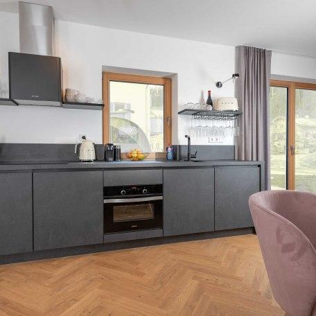 moderne und vollausgestattete Küche, © Claus Uhlendorf