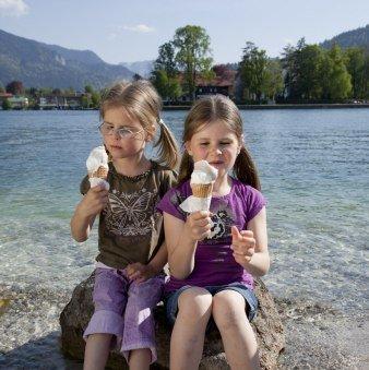 Kinder am Tegernseer Seeufer, © Bernd Ritschel