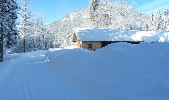Loipe Klamm-Bayerwald-Glashütte, © Tourist-Information Kreuth