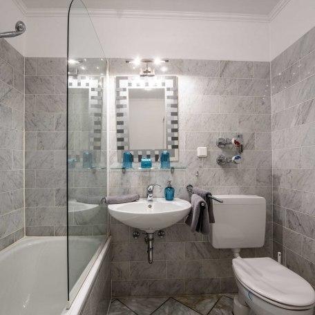 Behagliches & gut ausgestattetes Bad mit Wanne & Dusche, © im-web.de/ Alpenregion Tegernsee Schliersee Kommunalunternehmen