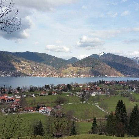 Ausblick von der Prinzenruh über See, © im-web.de/ Tourist-Information Bad Wiessee