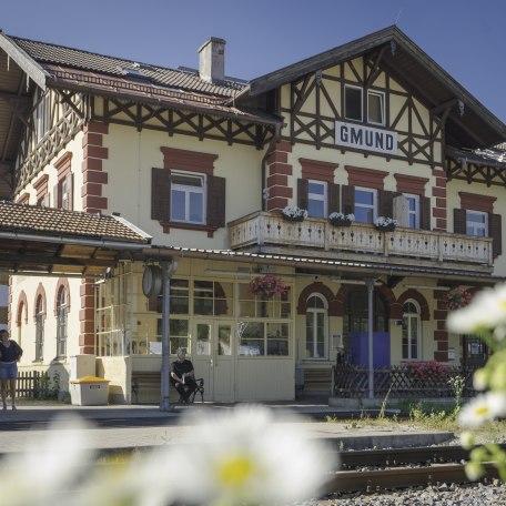Gmund Bahnhof, © Der Tegernsee, Dietmar Denger
