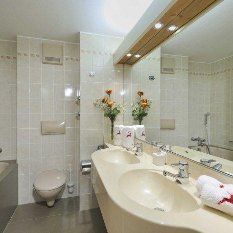 Badezimmer in den Ferienwohnungen im Ignazhof in Bad Wiessee, © im-web.de/ Tourist-Information Bad Wiessee