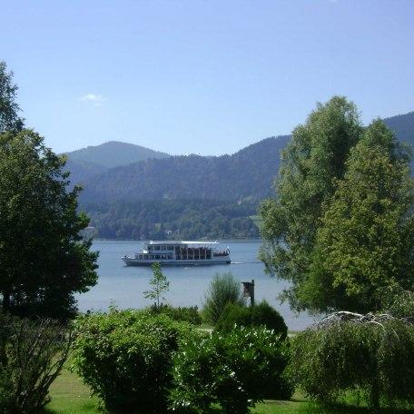 Ausblick vom Balkon, © im-web.de/ Tourist-Information Gmund am Tegernsee