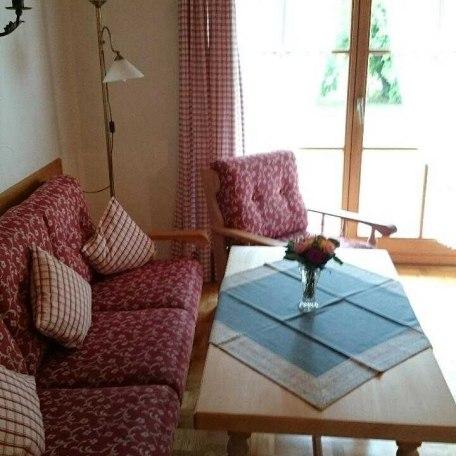 Wohnzimmer Couchgarnitur, © im-web.de/ Tourist-Information Rottach-Egern