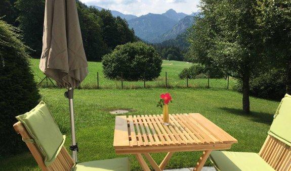Traumblick von der eigenen Terrasse, © im-web.de/ Tourist-Information Kreuth