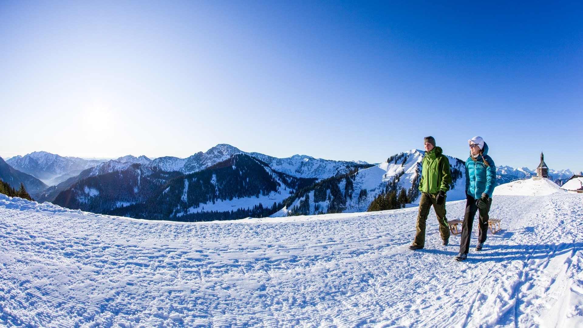 Winterwandern - Feuer & Eis Touristik , © Bernd Ritschel